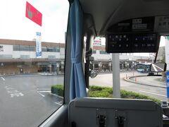 14:17 10分ほど遅れて松江駅に到着