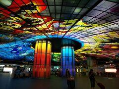 地下鉄の美麗島駅にあるDome of Light。 改札を出るとすぐに豪華なドームのオブジェが現れます。