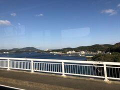 長崎駅前のバスターミナルから3時間以上かけて平戸にやってきた。