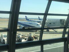 7時過ぎに自宅を出発、9時前に羽田空港到着
