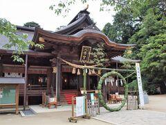 次に訪ねたのが水戸八幡宮 創祀以来の水戸城主代々の崇敬社で、常陸国水府総鎮守とされてきた神社です。