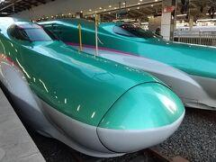東京7:32発はやぶさ5号新青森行き。