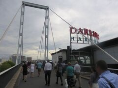いったんピアモント橋を通ってハーバーに差しかかる手前で橋を降ります。