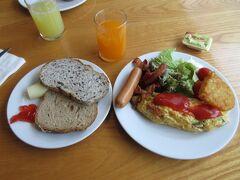 ナライホテルの朝食です。