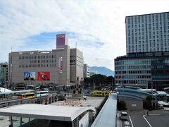 ふたたび鹿児島中央駅に戻ってきました。