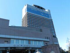 こちらが『帝国ホテル大阪』の外観です。