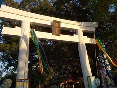 ぐるっと回って棒案坂から上り、加藤神社に着きました。