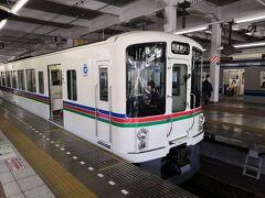 特急ラビューで秩父まで行くと乗り換えの秩父鉄道との接続が良くないので、往路は普通列車を乗り継いで西武秩父駅まで行きました。これは飯能駅からの普通列車です。