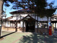 長瀞駅は関東駅百選にも選ばれている木造の趣のある駅です。