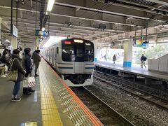 大船で横須賀線に乗り換え。