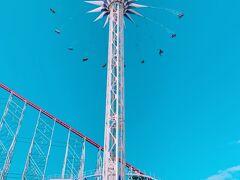 高い所は大好きなので、このアトラクションは別に恐怖を感じることもなく、なかなか楽しかったです。