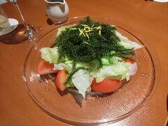 海ぶどうのサラダ