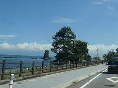 その後、道の駅『雨晴』を経由して、新港を目指します。