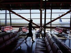 空港にくるとテンションアップして、疲れや具合が悪いのは忘れてしまう