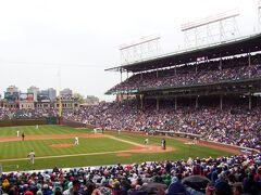 シカゴでも野球観戦