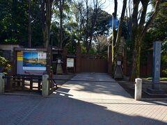 しだれ桜が有名な六義園。 しかし、緊急事態宣言中の影響か休園していた。