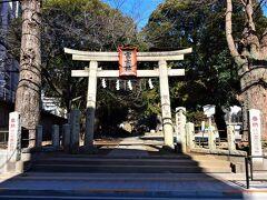 『一富士二鷹三茄子』の一富士の駒込富士神社があった。