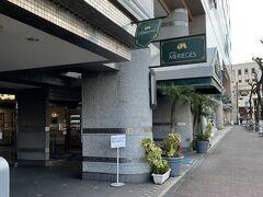 二泊目のホテル