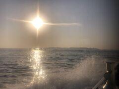 日間賀島が見えてきた。