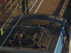 EF66電気機関車 鹿島田跨線橋からはいくつもの機関車が見えました。