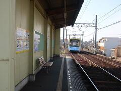 大阪市内を走る唯一の路面電車 阪堺線の神ノ木駅から今日の お散歩はスタート!