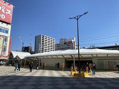 場所は突然変わって、新小岩駅にやって来ました。 先日同様、都区内パスを購入しており、これまで訪れたことのない場所を廻ります。