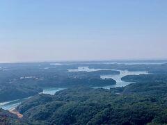 横山展望台からの、賢島の眺めです!