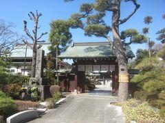 そこから少し下った場所にあったのが本行寺 日蓮上人はこの場所で入滅したそうです