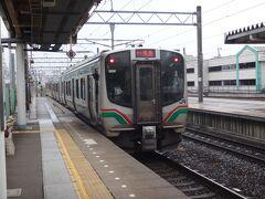 仙台から11分、名取に到着。 快速とはいっても途中、太子堂だけ通過なので各停と1分しか違わない。 年々、停車駅が増えて行き最後は廃止とか。東海道線の快速アクティーも同じような運命を辿りそうだ。