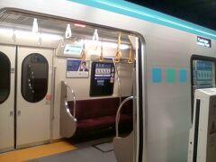 仙台市営バスで荒井駅へ戻り、地下鉄東西線に乗りました。 仙台駅で下車、地下鉄南北線に乗り換え、長町で下車。