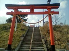 日和山に登りました。
