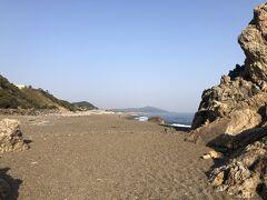 片浜十三里  日出の石門から浜名湖の今切れ口までの52㎞(13里)の海岸