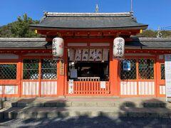 宇治神社本殿、