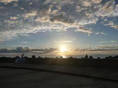 17:40  海の駅『蜃気楼』に来ました。