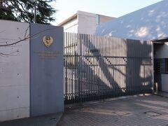 【タイ王国大使館】 公邸のすぐお隣に大使館