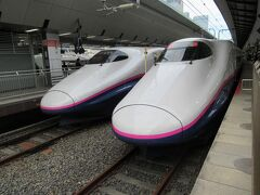 旅のスタートは新幹線。久しぶりの上越新幹線です。