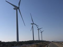 西ノ浜風力発電 // 風車が並んだ壮大な景色