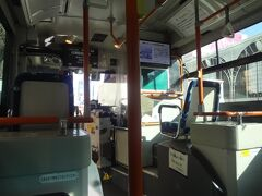 都バス車内