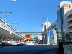 羽田空港とうちゃーく。 雲ひとつない快晴です☆