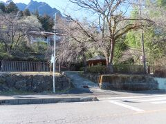 妙義神社周辺の風景