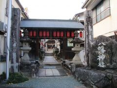 商いと暮らし博物館を出ると正面には八幡神社という神社が鎮座していました。古くからの中心地に近い場所で内子の人々の信仰の場になっていたようです。