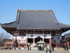 池上本門寺「大堂」 立派な大堂でした。