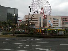 鹿児島中央です。 今日はここで一泊します。  ここまで2日間要しています。