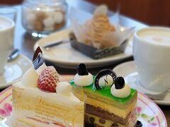 チェックインの前に、何か甘いもの食べたいな~と思い、以前から気になっていた和・洋菓子屋さんへ。