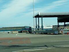 焼津港に着きました。