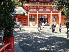 氷川神社に来ました。