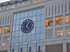 こちらは、札幌駅にある時計です。