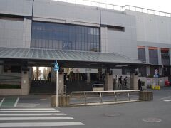 日吉駅 ここは横浜市。