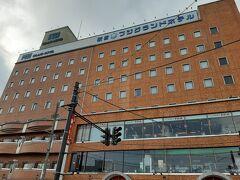 大内宿から戻り、2日目の宿泊先である「駅前フジグランドホテル」にチェックインしました。