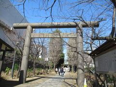 歩いてたら目に入った亀戸香取神社参道の看板。  予定になかったけど、行ってみちゃう?